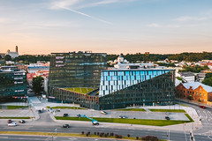 Magnum business center | Kaunas aerial