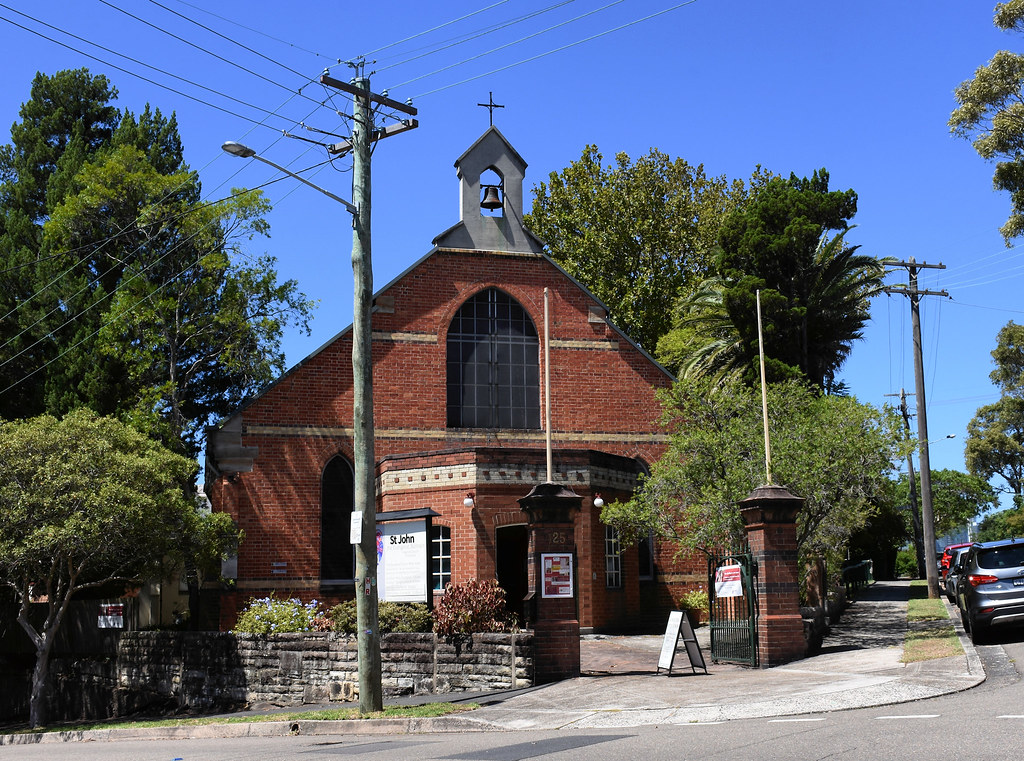 St John Anglican Church, Birchgrove, Sydney, NSW.