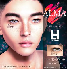 ALMA Makeup - Believe - L´Homme Gift - August 2020