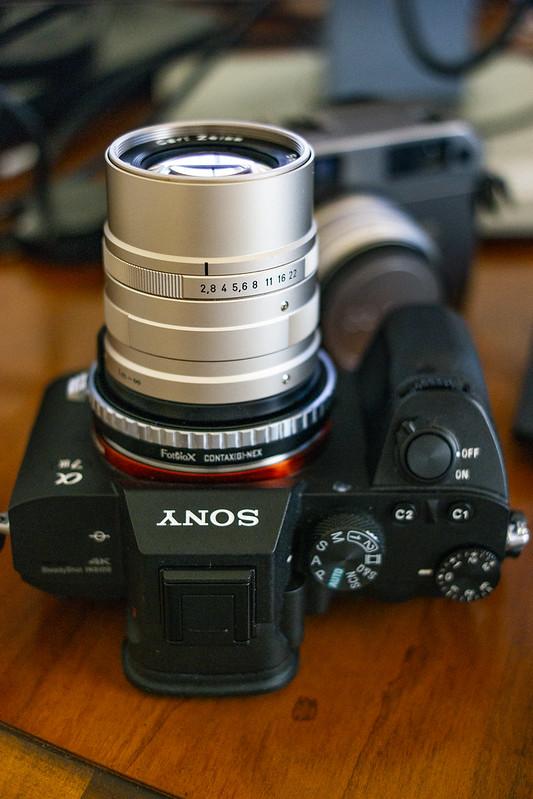 Contax G Zeiss Sonnar 90mm f/2.8