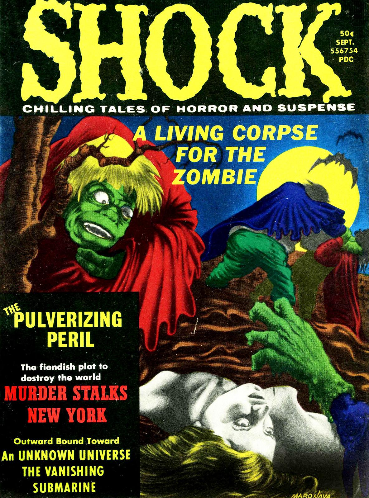 Shock - Volume 3, Issue 04, September 1971