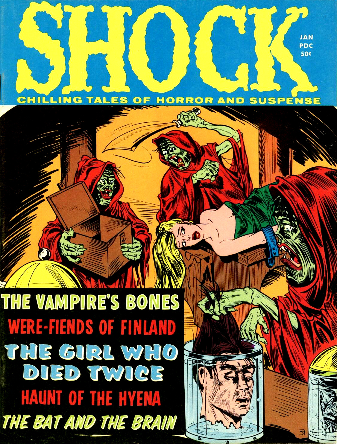 Shock - Volume 2, Issue 06, January 1971