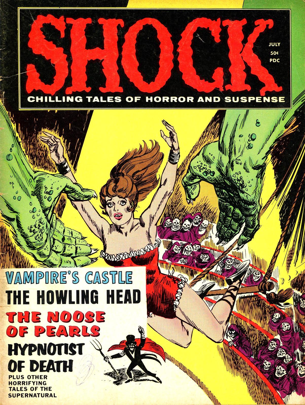 Shock - Volume 1, Issue 08, September 1970