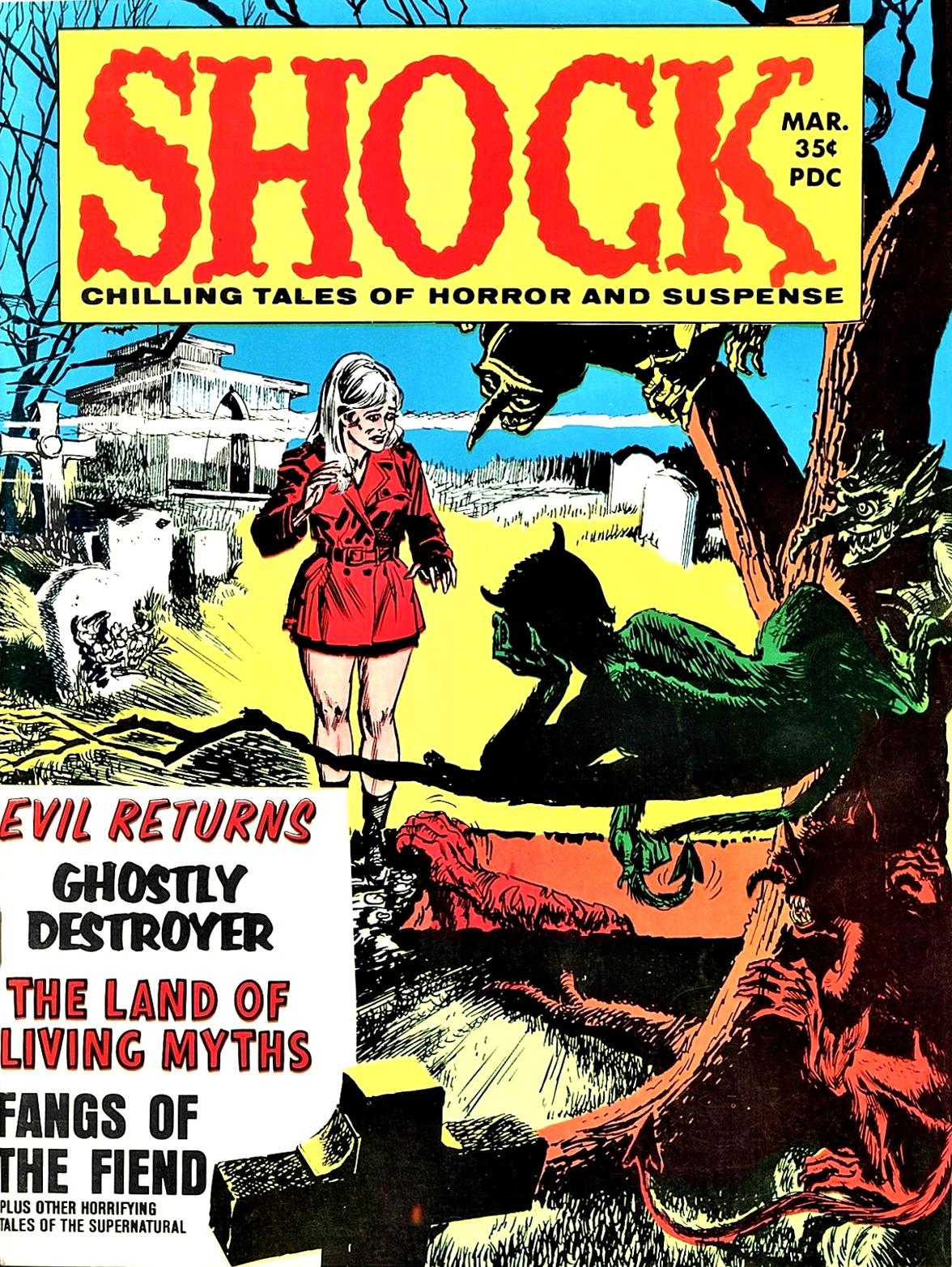 Shock - Volume 1, Issue 07, March 1970