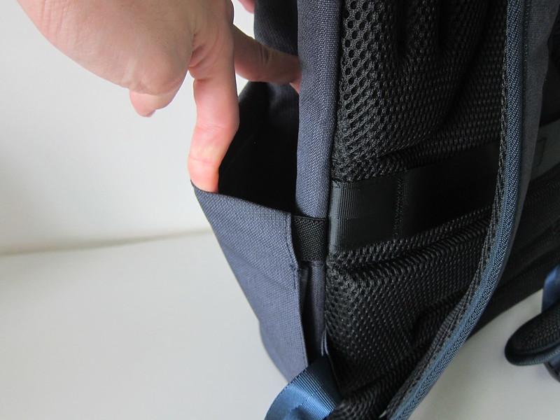 Targus Cypress EcoSmart 15.6 Inch Slim Backpack - Side Pocket