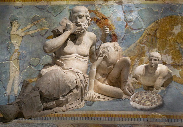 Playing with antiquities: the phone guy