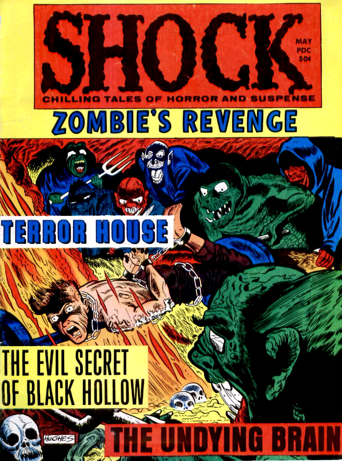 Shock - Volume 2, Issue 02, May 1970