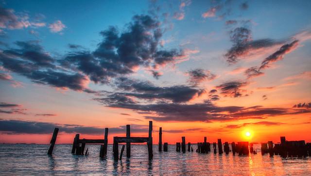 Sunset on the Nanticoke