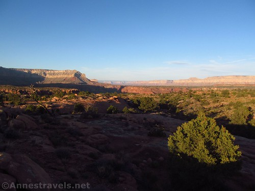 Views from closer to the Tuweep Campground, Grand Canyon National Park, Arizona