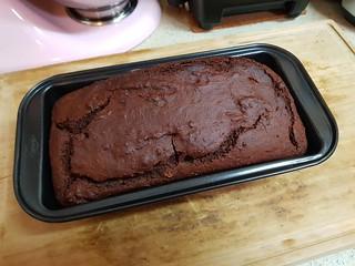 Chocolate Tahini Quick Bread