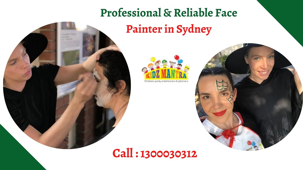 Professional & Reliable Face Painter in Sydney