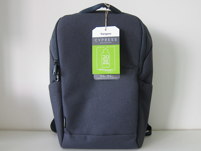 Targus Cypress EcoSmart 15.6 Inch Slim Backpack - Packaging