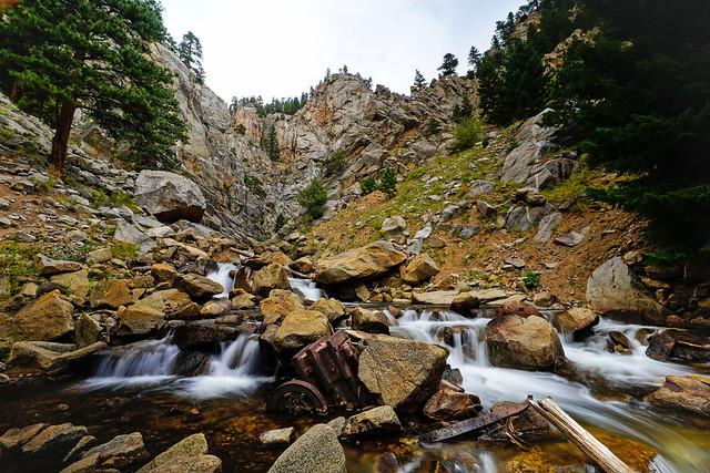 Upper Boulder Falls