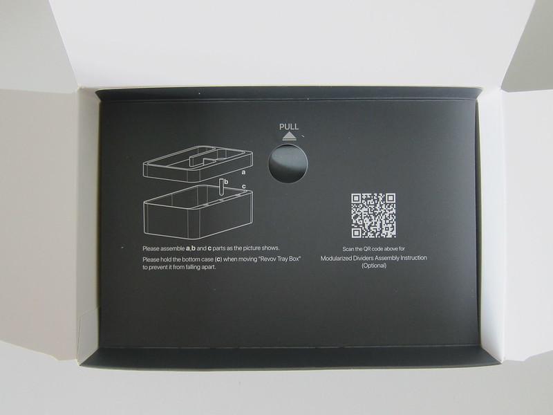 Revov Tray Box - Box Open