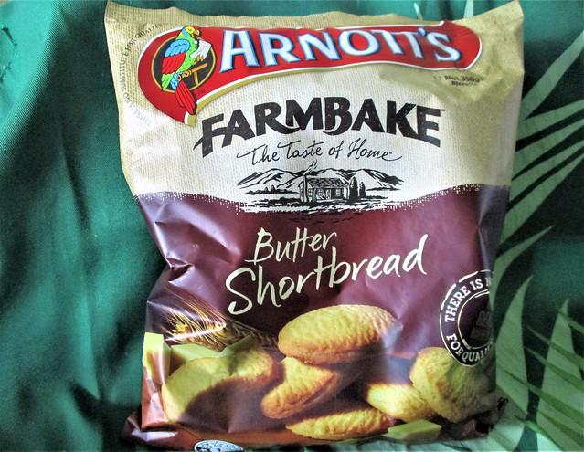 Arnott's Farmbake butter shortbread