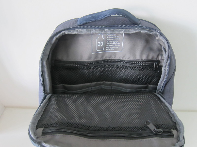 Targus Cypress EcoSmart 15.6 Inch Slim Backpack - Main Compartment