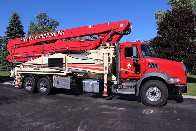 Steffy Concrete Inc. Truck