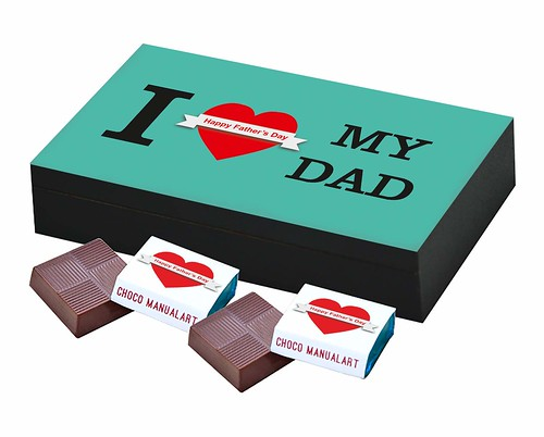 Customized and Personalized Mother Day Gift with Photo Name Message Print on Them for GF BF Mother Father Friend Black Wooden Collage - 6pcs Chocolate's Box