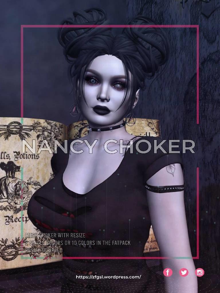 ZFG NANCY CHOKER