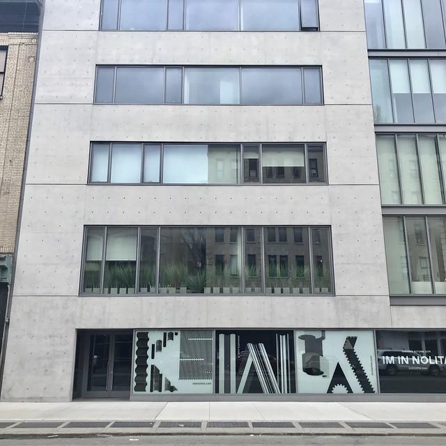 Tadao Ando (安藤忠雄), condos on Elizabeth Street