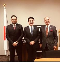Ambassador Met with Mr. SATO