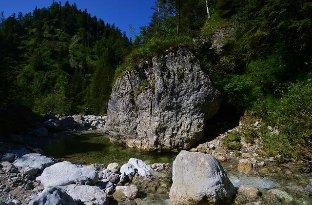Jachenau - Big Boulder