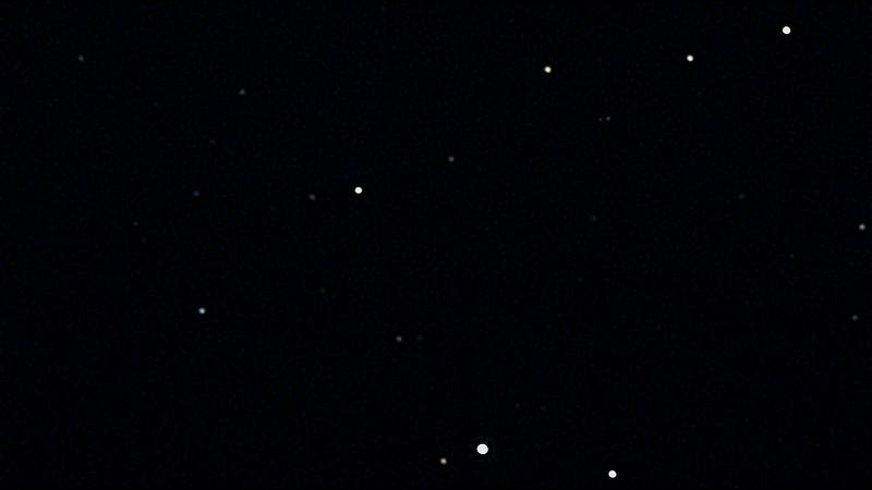 冥王星周辺 (2020/8/11 23:00) (wavelet)