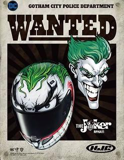 瘋狂小丑在背後追著你~HJC推出RPHA11 Pro 小丑JOKER主題安全帽
