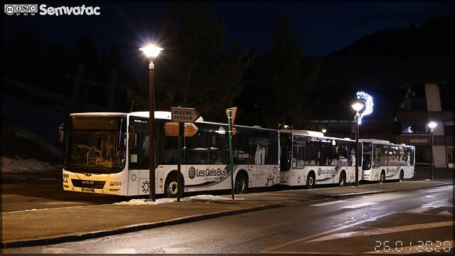 Man Lion's City M – Gavot Tourisme / Les Gets Bus n°199