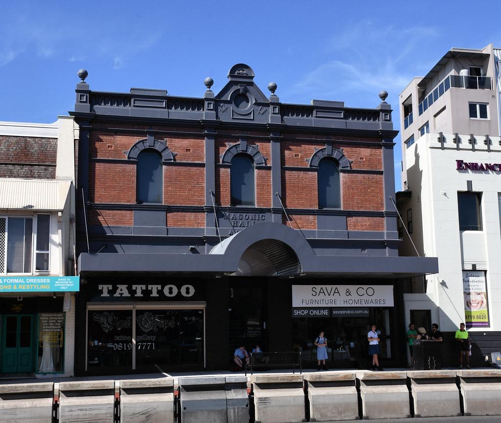 Former Masonic Hall, Drummoyne, Sydney, NSW.