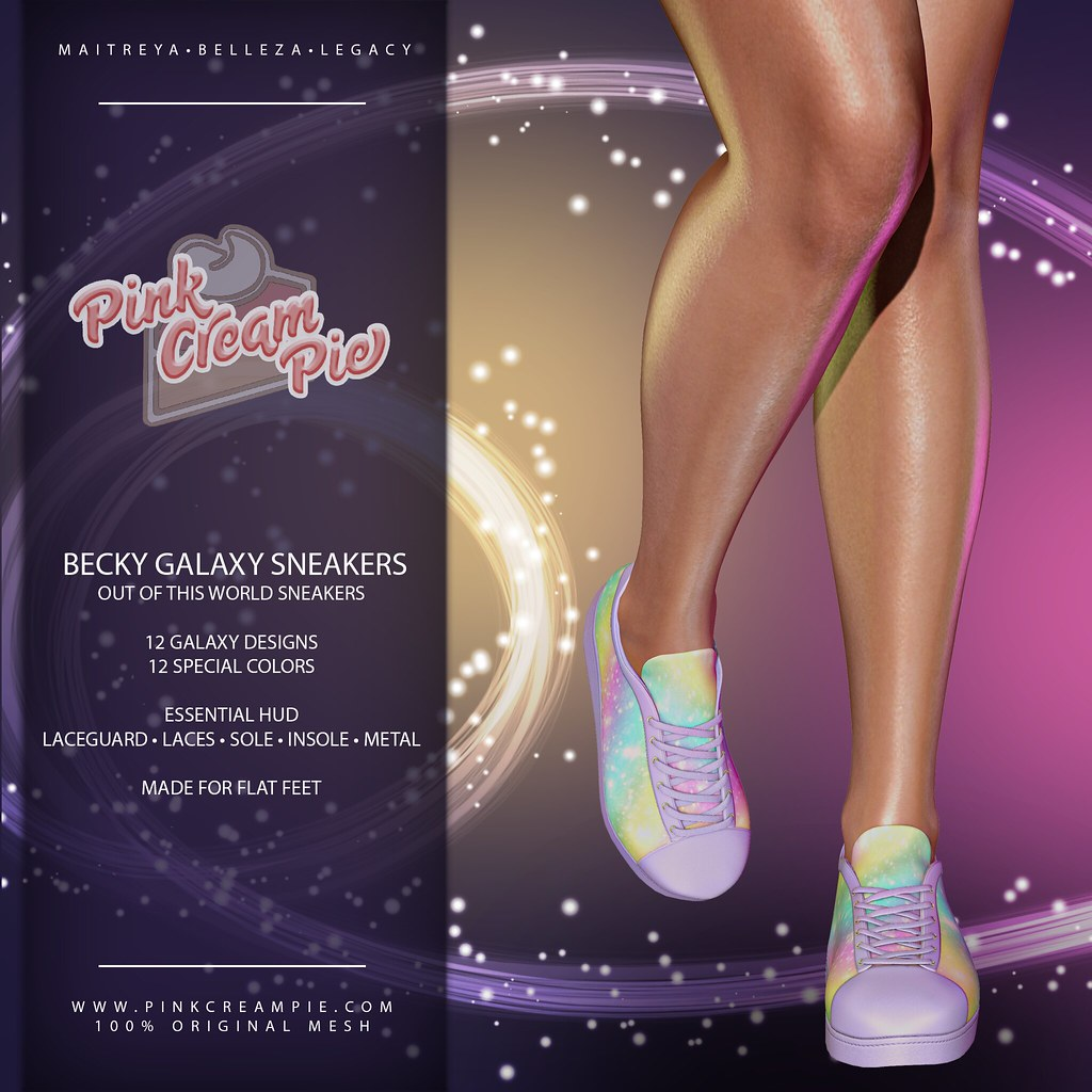 Becky Galaxy Sneakers  @ Fly Buy Fridays