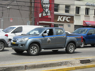 Jamaica Constabulary Force Isuzu D-Max | by JLaw45