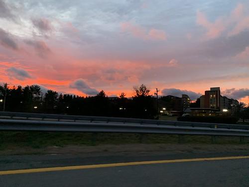 motel hotel sunset