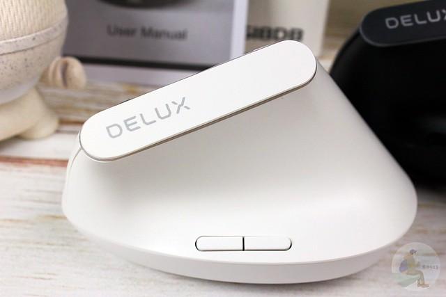 DELUX M618DB 垂直護腕光學滑鼠