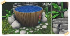 Rock Tank Pool CHEZ MOI