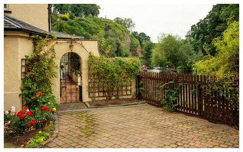 landscape outdoor yorkshire knaresborough northyorkshire august2020 england house home photoshop digitalart photoart oilpaintfilter fujifilmxf1855mm fujifilmxt2 stuartmurphy