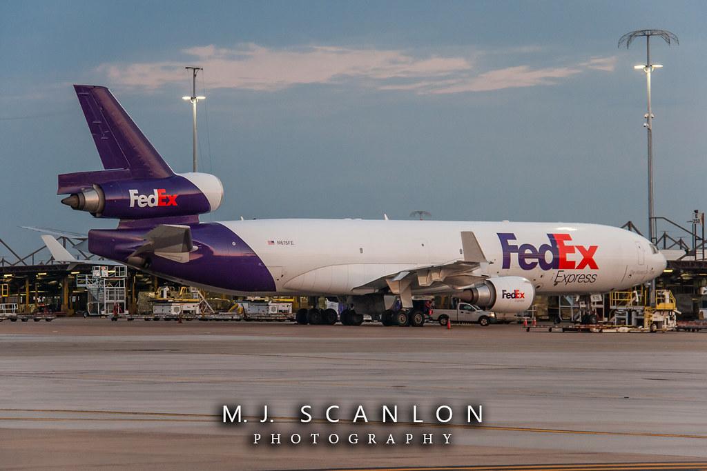 N615FE FedEx | McDonnell Douglas MD-11F | Memphis International Airport