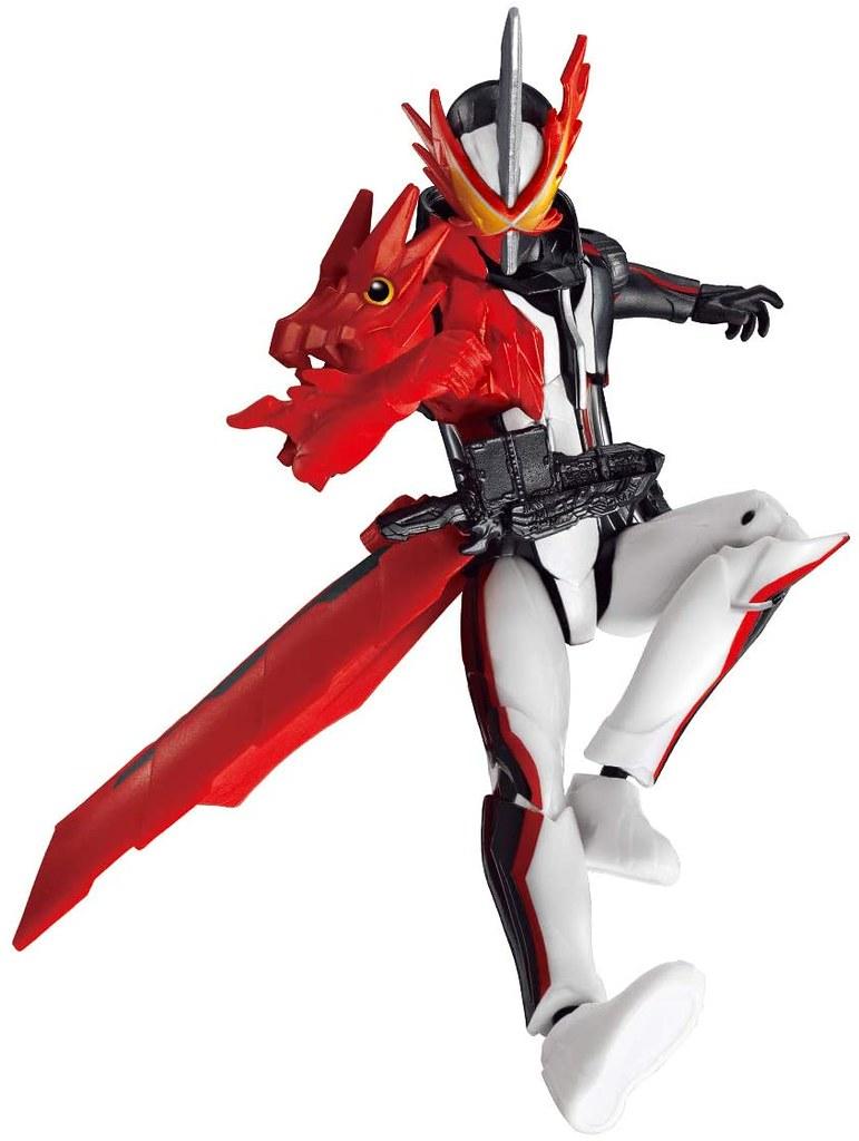 RKF「假面騎士聖刃」可動人偶 09 月登場,再現初始型態「BRAVE DRAGON」!