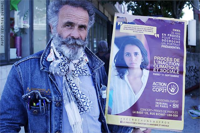 Soutiens au procès parisien des « décrocheurs » de portrait de Macron IMG190911_011_©2019 | Fichier Flickr 1000x667Px Fichier d'impression 5610x3740Px-300dpi