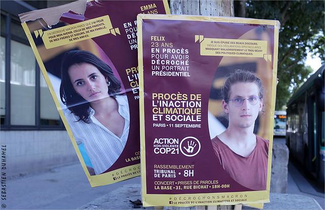 Soutiens au procès parisien des « décrocheurs » de portrait de Macron IMG190911_012_©2019 | Fichier Flickr 1000x667Px Fichier d'impression 5610x3740Px-300dpi