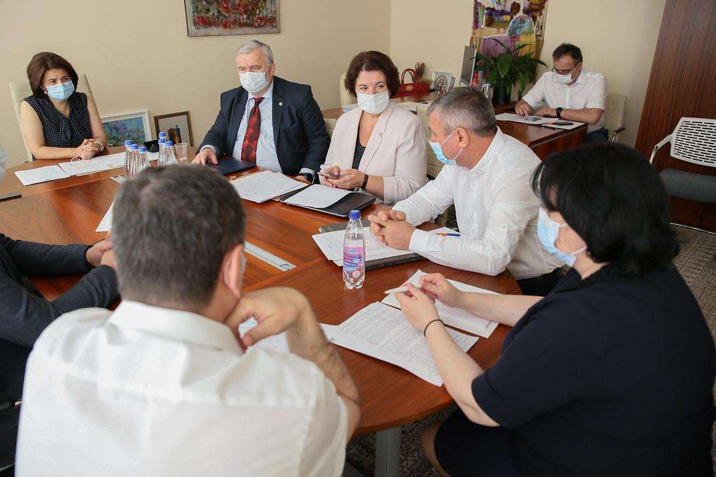 13.08.2020  Ședința grupului de lucru privind problemele din educație în contextul pandemiei și începutul noului an