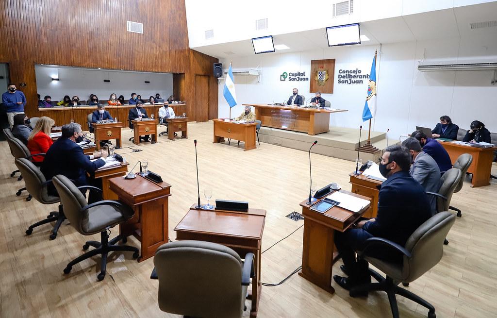 2020-08-13 Sesión del Concejo Deliberante