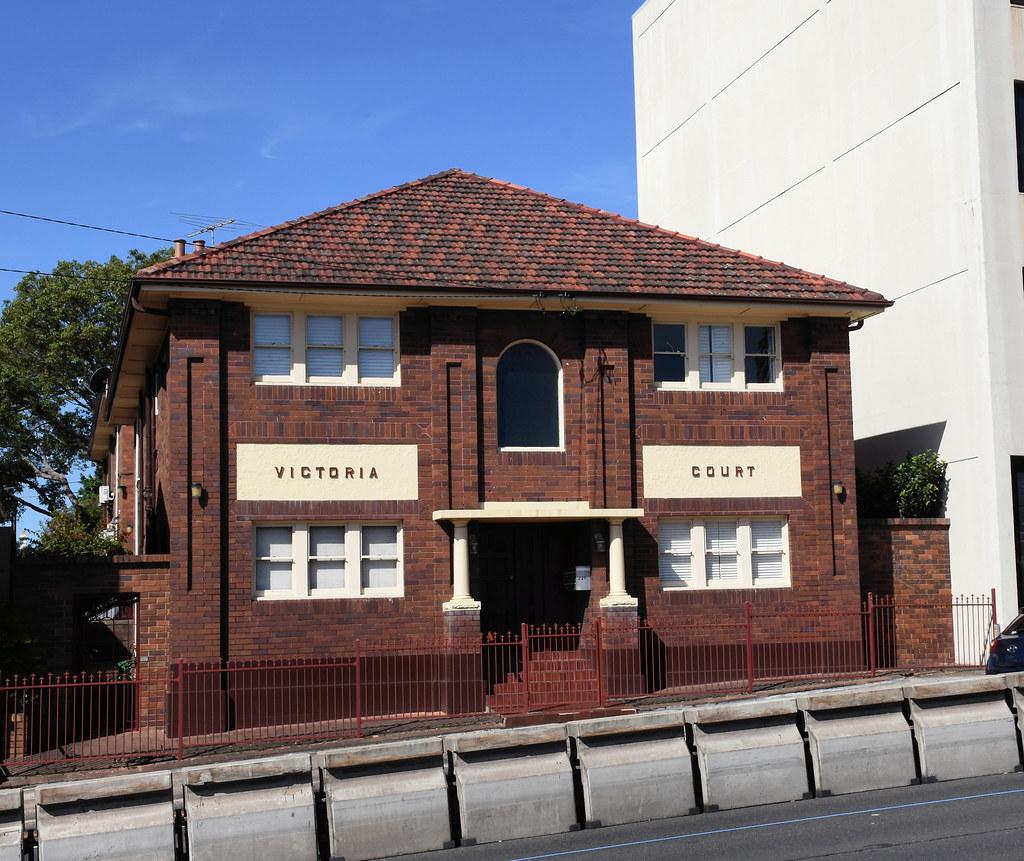 Victoria Court Units, Drummoyne, Sydney, NSW.