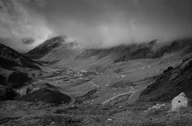 Somewhere at the Furka Pass | Switzerland 1991