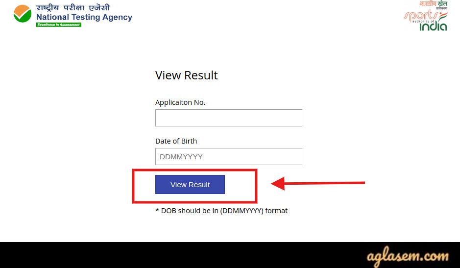 SAI CEP 2020 exam result