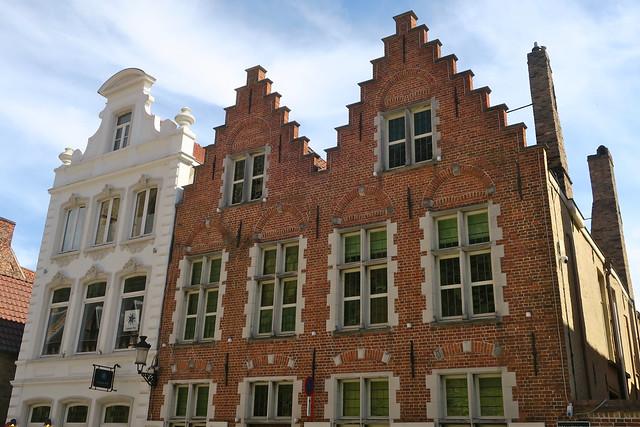 Maisons de la Sint-Salvatorkerkhof