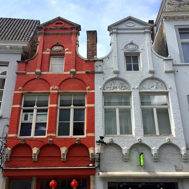Maisons dans la Geldmuntstraat