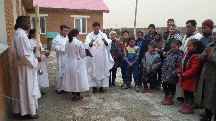 Prefeito apostólico na Mongólia