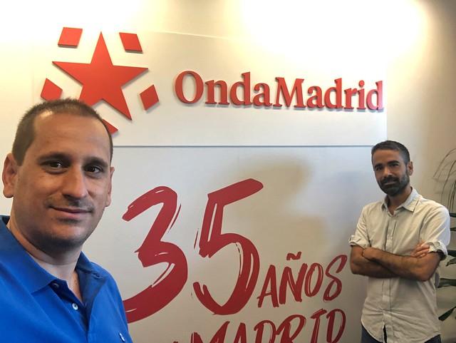 Sele y Rodrigo de Pablo en Onda Madrid