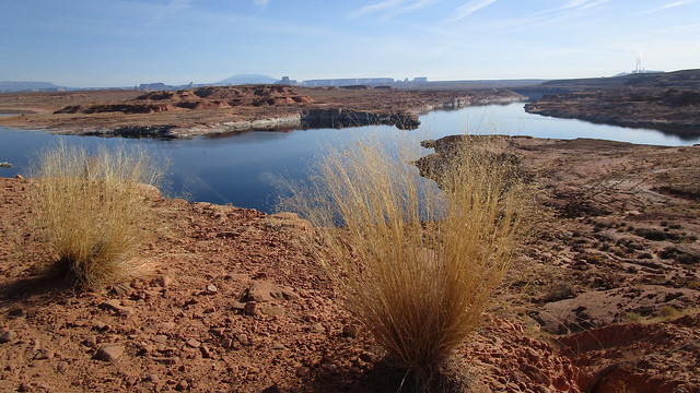 Arizona - Lake Powell: The southwestern portion of the water reservoir (near Page)